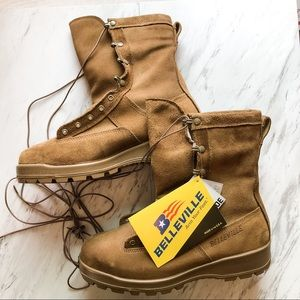 Belleville Military Steel Toe Boots NWT